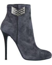 Gianmarco Lorenzi Ankle Boots - Gray