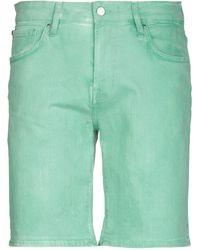 Guess Bermuda en jean - Vert