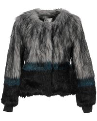 Bomboogie Faux Fur - Grey