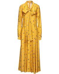 Mulberry Robe longue - Jaune