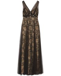 Mikael Aghal Long Dress - Black