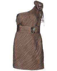 Carlo Pignatelli Short Dress - Natural
