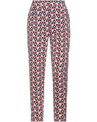 Molly Bracken Casual Trouser - Red