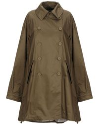 AT.P.CO Overcoat - Green