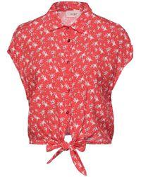 ViCOLO Camicia - Rosso