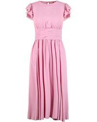 N°21 3/4 Length Dress - Pink