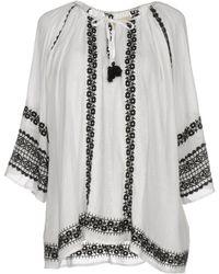 Denim & Supply Ralph Lauren - Embroidered Gauze Top - Lyst
