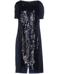 Talbot Runhof Knee-length Dress - Blue
