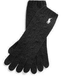 Polo Ralph Lauren Gloves - Black