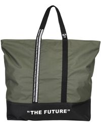 Daniele Alessandrini Homme Travel Duffel Bags - Green
