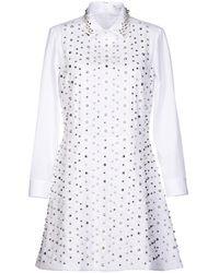 Viktor & Rolf Short Dress - White
