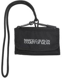 Marcelo Burlon Wallet - Black