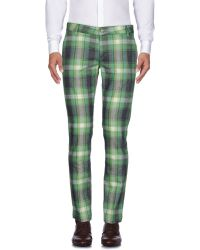 Entre Amis Casual Trouser - Green