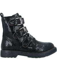 CafeNoir Ankle Boots - Black