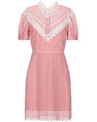 Sandro Short Dress - Pink