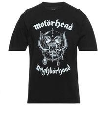 Neighborhood Camiseta - Negro