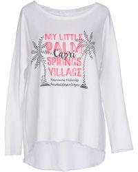 Au Soleil De Saint Tropez Sweatshirts - White