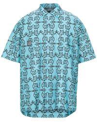 Flagstuff Shirt - Blue