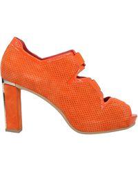 Pas De Rouge Ankle Boots - Orange