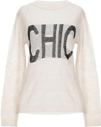 CafeNoir Sweater - White