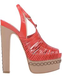 Brian Atwood Sandals - Red