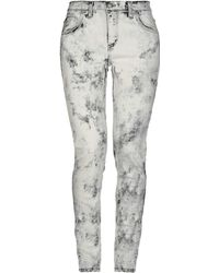 Roseanna Denim Pants - Gray