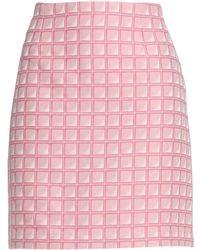 Alexander Lewis - Knee Length Skirt - Lyst