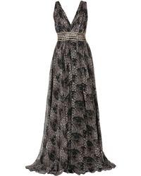 Philipp Plein Long Dress - Grey