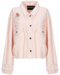 Marco Bologna Denim Outerwear - Pink