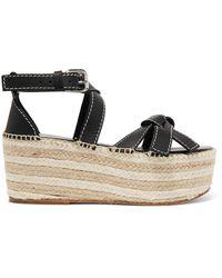 Loewe Sandals - Black
