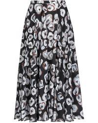 Lardini 3/4 Length Skirt - Black