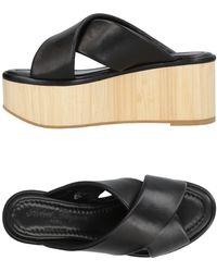 Robert Clergerie Sandals - Black