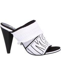 MSGM Sandals - White