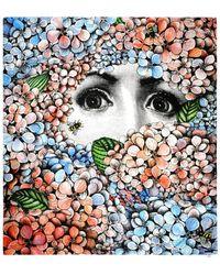 Fornasetti Écharpe - Multicolore