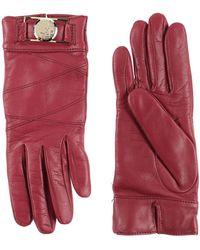 Versace Gloves - Red