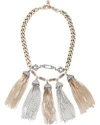 Lulu Frost Necklace - Metallic