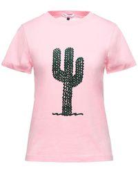 Bella Freud Camiseta - Rosa