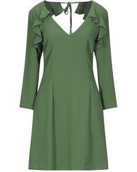 Suoli Short Dress - Green