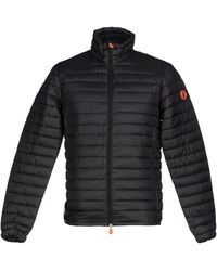 Save The Duck Synthetic Down Jacket - Black