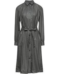 Bagutta Midi Dress - Grey