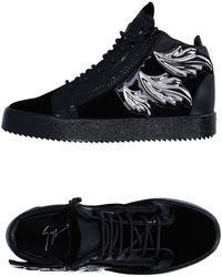 Giuseppe Zanotti Sneakers & Tennis montantes - Noir