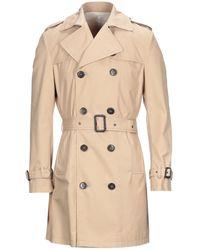 Brian Dales Overcoat - Natural
