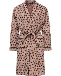 Love Stories Dressing Gown - Brown