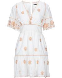 Hanita Short Dress - White