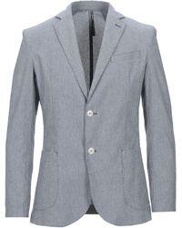0/zero Construction Suit Jacket - Blue