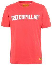 Caterpillar T-shirt - Red
