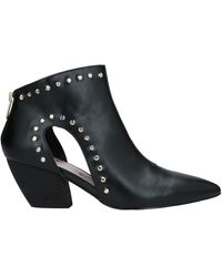 MY TWIN Twinset Ankle Boots - Black