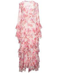 MSGM Vestito lungo - Rosa