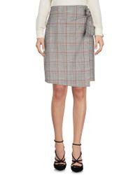 Angela Davis - Knee Length Skirts - Lyst