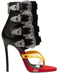 DSquared² Toe Post Sandal - Red